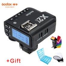 Godox X2T C X2T N X2T S X2T F X2T O X2T P ttl disparador de flash sem fio para canon nikon sony câmera conexão bluetooth hss