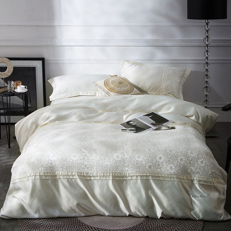 Aliexpress.com : Buy 2017 Washed silk Luxury Bedding set