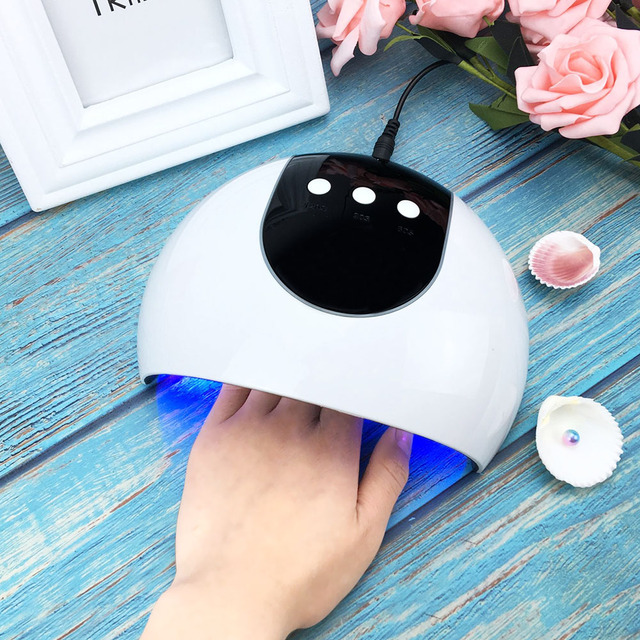 36W LED UV Lamp Gel Nail Polish Nail Dryer Manicure Led Rainbow Nail Lamp For Nails Art Tools Portable Vanishes Curing Light