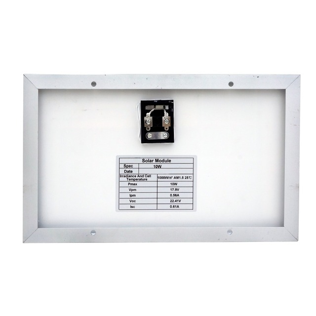 Hot* 10W solar panel  with 3A controller and battery clips, 10w 12v solar system