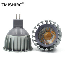 ZMISHIBO MR16 GU5.3 LED Bulb12V 5W Super Bright Aluminum Cup Spotlight COB Lamp Living Room 400lm Energy Saving Light