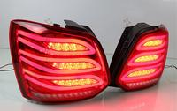 2pcs car styling polo tail lights for 2011~2017 Polo taillights LED Tail Lamp rear trunk lamp drl+brake+reverse+turn signal