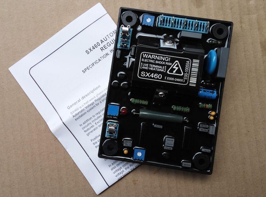 Stamford generator AVR SX460