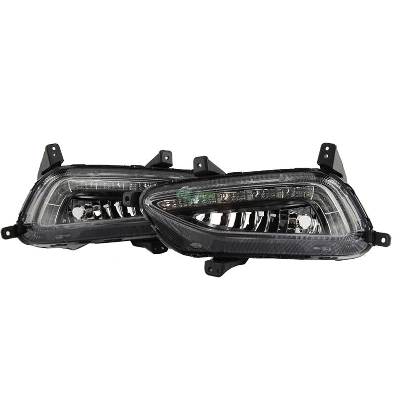 Automobilski dizajn prednja LED svjetiljka za maglu DRL dnevna - Svjetla automobila - Foto 3