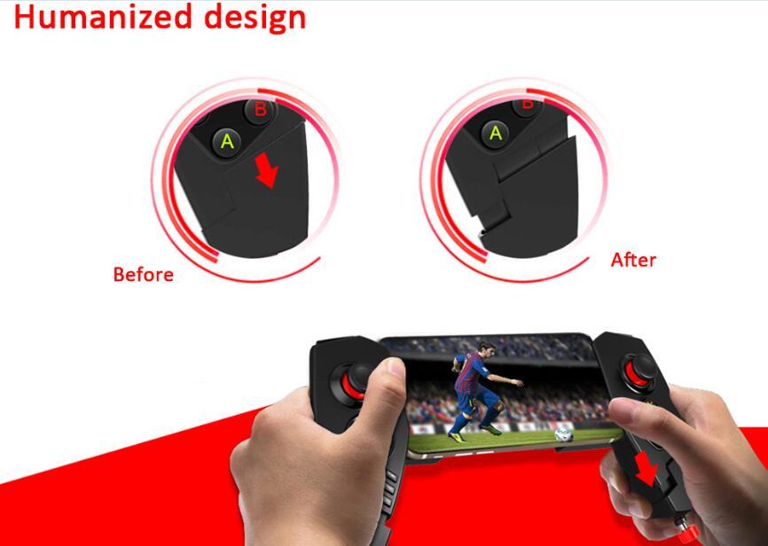جويستك للتحكم بالالعاب في اجهزة الاندرويد والايباد الاتصال بالبلوتوث IPEGA 9055 PG-9055 10