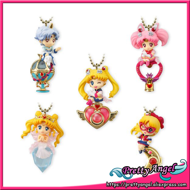 PrettyAngel - Original Bandai Shokugan Twinkle Dolly Sailor Moon Part.4 Keychain Action Figure Set of 5 PCS насос makita pf0800
