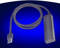 10Gb USB3.1 Type A to SATA3.0 Cable Adapter for 2.5 SSD HDD 3.5 SATA 12V Power
