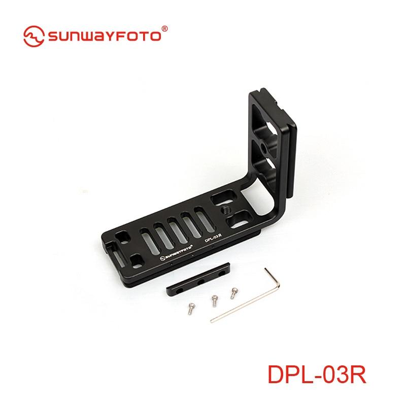 Doprava zdarma SUNWAYFOTO Univerzální deska DPL-03R pro tělo - Videokamery a fotoaparáty