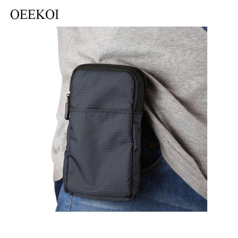 OEEKOI Multi-Функция ремешках Спорт сумка чехол для Freetel Rei 2 Dual/априори 5/4 /Kiwami 2/самурая Raijin/самурая Рей