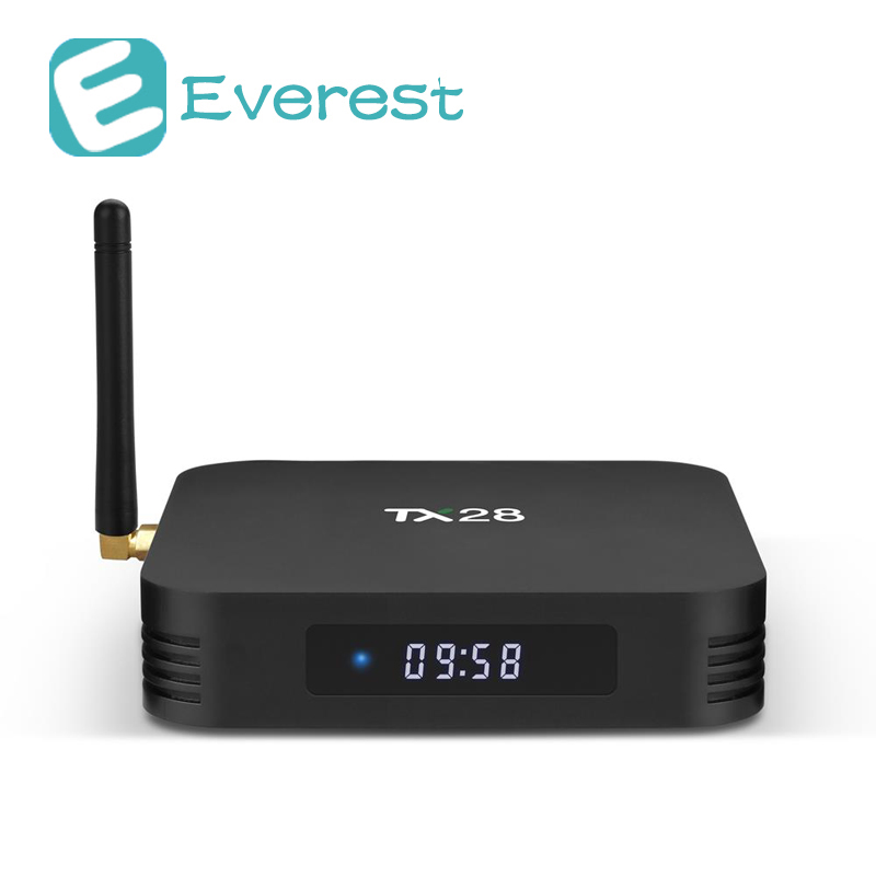 TANIX TX28 TV BOX RK3328 4G RAM 32G ROM 2.4G/5G WIFI Android 7.1 Mini PC Bluetooth HDMI  ...