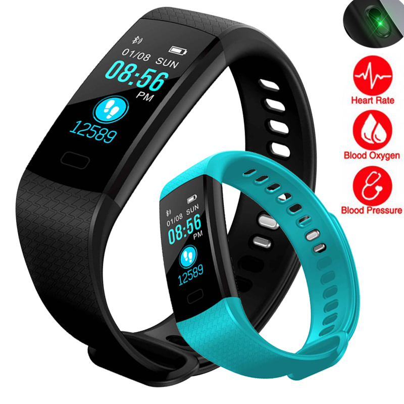 Smart Watch Women Men Sport Fitness Wristband Heart Rate