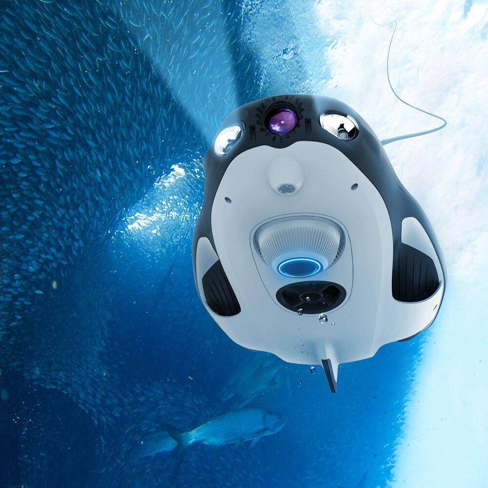 Drone sous-marin PowerVision PowerRay caméra de pêche Drone 1080 p pêche Drone assistant Rc 4 K UHD plongée nautique PK DJI Mavic 2