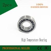 6206 30x62x16mm Yüksek Sıcaklık Rulman (2 Adet) 500 Derece Santigrat Tam Rulman TB6206|bearing bearing|bearing 6206bearing temperature -