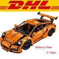 2016 New LEPIN 20001 2704Pcs Technic Series 911 GT3RS Race Car Model Building Kits Blocks Bricks Toy Compatible With Gift 42056