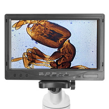 On sale 7″ TFT LCD Monitor 3MP Microscope Electronic Eyepiece Universal Digital Eyepiece Easy Use Microscope Accessories Displayer 23mm