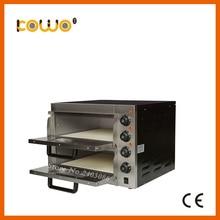 CE утвержден хлебобулочных оборудование для пиццы двойной электрический стойки Подогрев печь