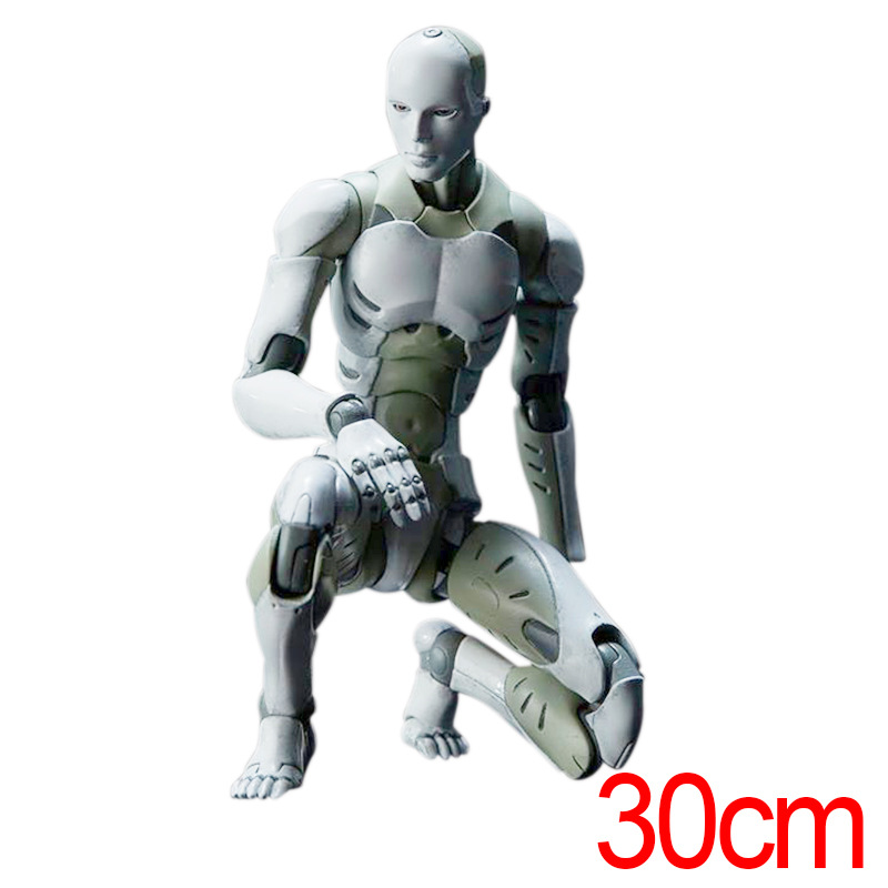 30cm 1000Toys TOA Heavy Industries Male Voxel <font><b>1/6</b></font> Moveable <font><b>Action</b></font> <font><b>Figure</b></font> Figma ABS SHFiguarts Ferrite <font><b>Body</b></font> Kun <font><b>Figure</b></font> for Gift image