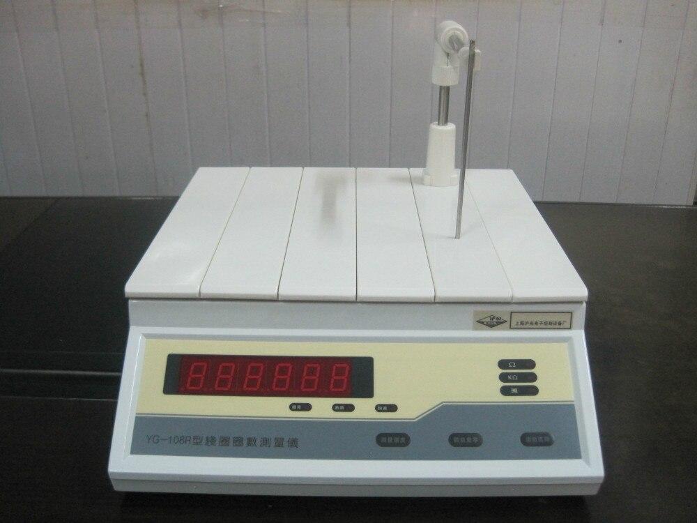 YG108R-10 transformatoriaus ritės numerio matavimo priemonė 0 ~ 60000 žiedo varžos bandymo ritės, kurios vidinis skersmuo yra 10 mm
