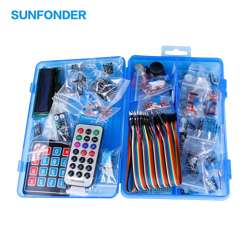 SunFounder DIY 37 in 1 Sensor Kit For font b Arduino b font Starter to Basic
