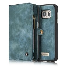 CaseMe Genuine Leather for Samsung Galaxy S7Edge G9350 Case MultiFunctional Wallet for Samsung Galaxy S7Edge 5.5inch Phone Case(China)