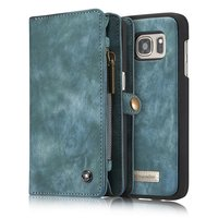 CaseMe Genuine Leather For Samsung Galaxy S7Edge G9350 Case MultiFunctional Wallet For Samsung Galaxy S7Edge