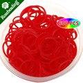 Красный Loom группы Value Pack из 600 шт. Полос Плюс 24 шт. s-застежка, резинки для loom ленты, ткацкий станок hook-D1469
