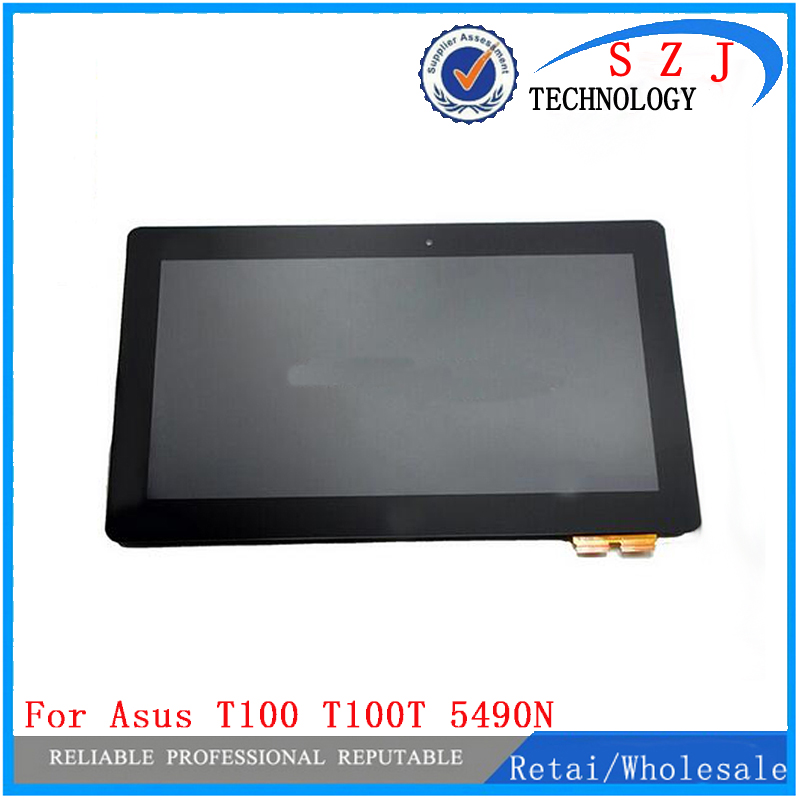 New 10.1 inch case for ASUS for Transformer Book T100TA T100T T100 LCD display assembly with touchscreen and frame Free Shipping upper case assembly for asus ux305ca ux305la ux305fa ux305ua ux305 am19y000m0s 13nb06x5am0202