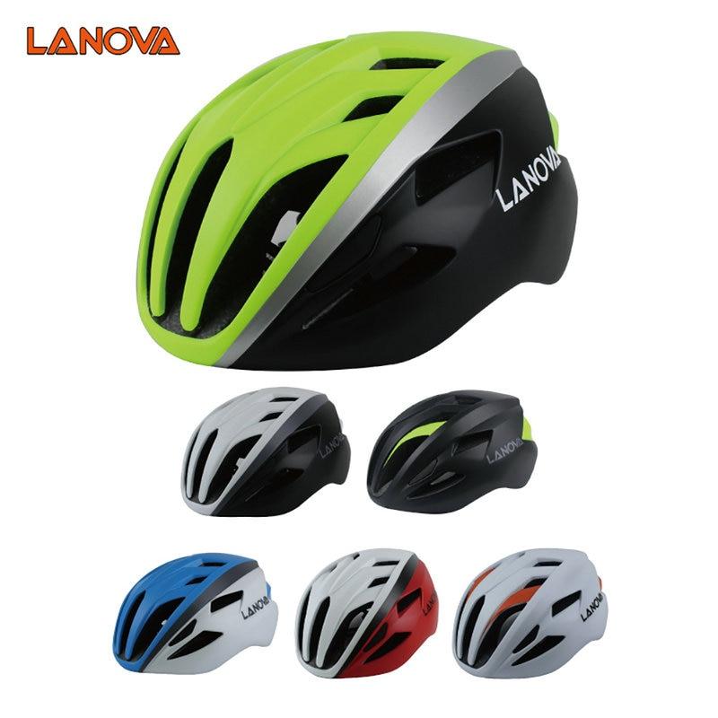 2017 Nuevo LANOVA Adultos Profesional MTB Mountain Road Bike Helmet - Ciclismo