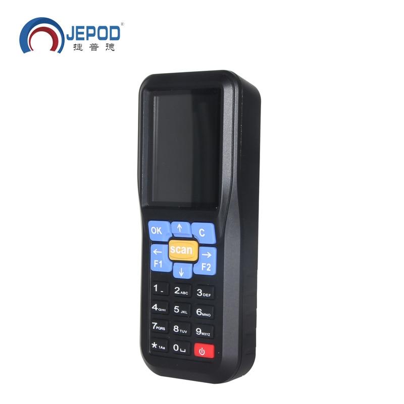 JP D1 Newest Wireless Data Collector Terminal Handheld Barcode Reader Laser Scanner