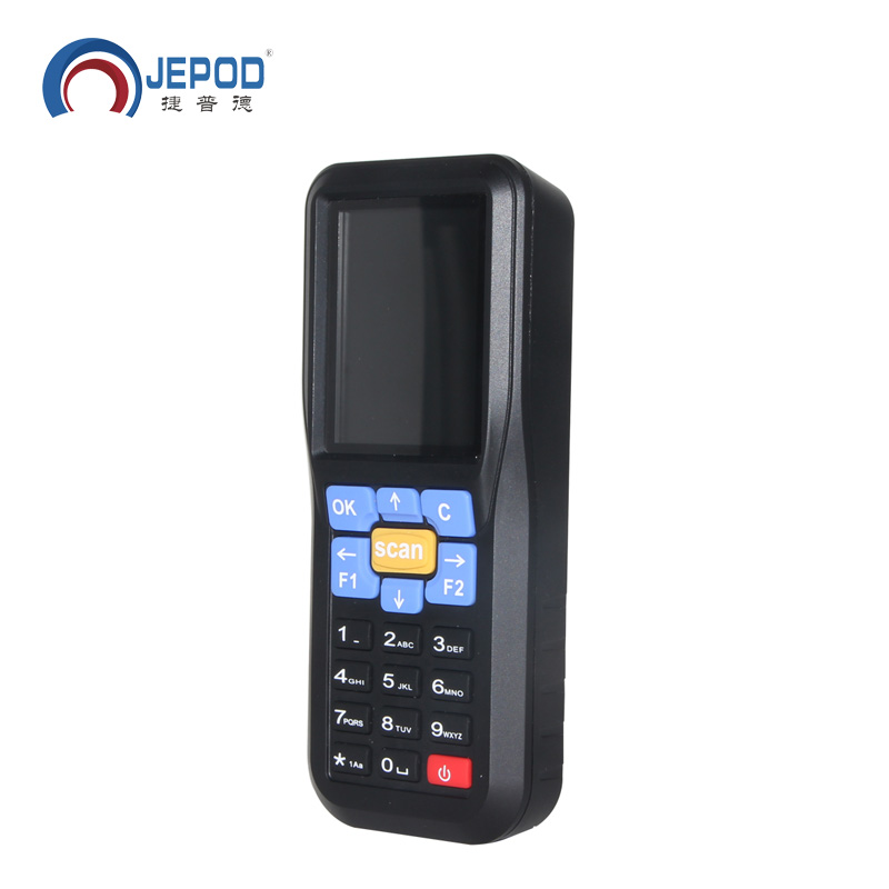 JP-D1 Newest Wireless Data Collector Terminal Handheld Barcode Reader Laser Scanner original 1d laser barcode handheld scanner bluetooth android rugged mobile data terminal pda nfc 3g data collector 1 sim card 2d
