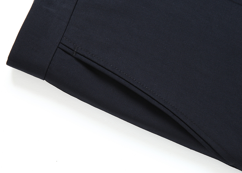 Summer Men Business Thin Silk Pants 29-50 Male Big Size Formal Classic Black Breathable Office Baggy Suit Trousers For Mens