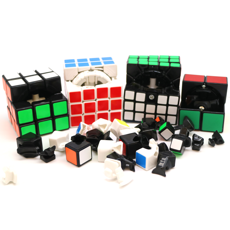 Magic Speed Cube Černá profesionální Speed kostky Migico Puzzle Speed Cube Challenge Dárky Vzdělávací Učení Hračky pro děti