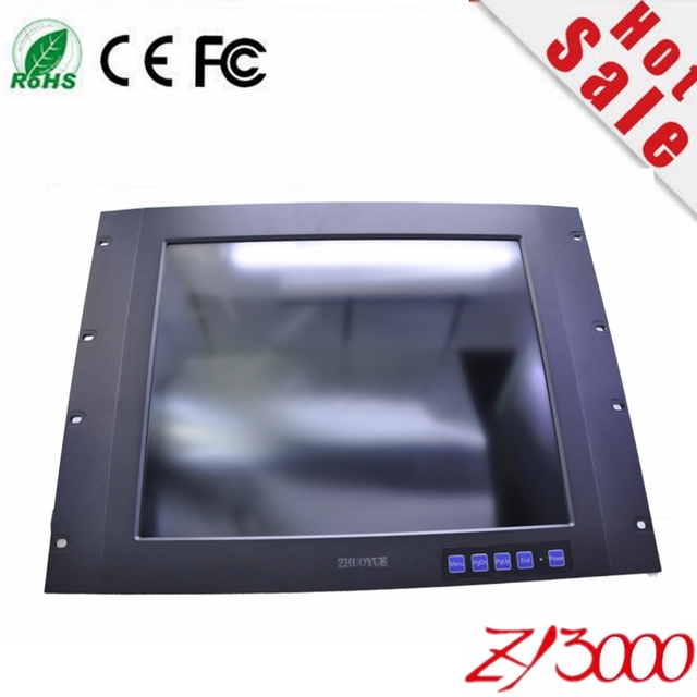 new stock 17 inch 4:3 metal casing open frame 5 wire resistive USB  industrial  touch screen monitor for machine