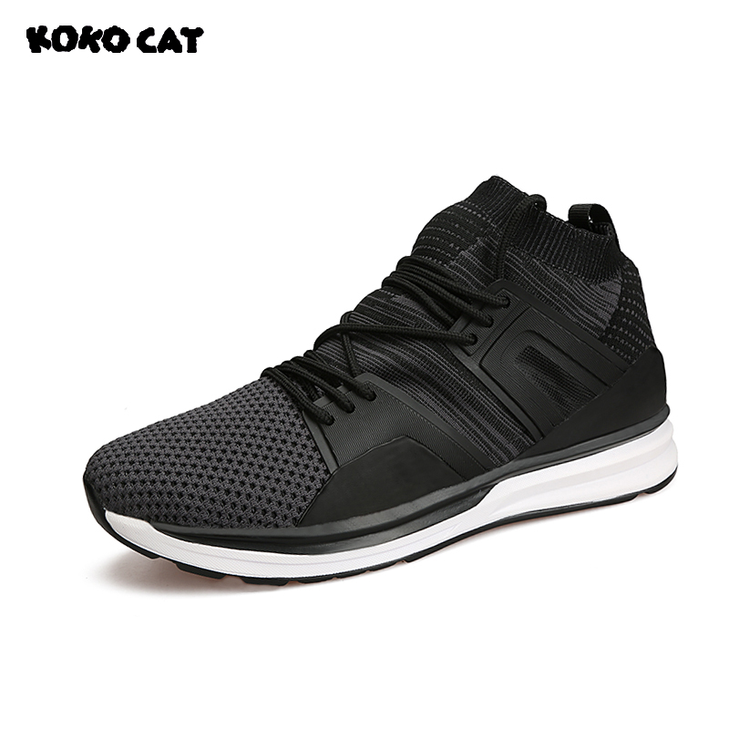 a631136cad KOKOCAT New Popular Male Shoes Summer Fashion Men Shoes Skid-proof  Breathable Nice Shoes Hard-wearing Mesh Men Shoes