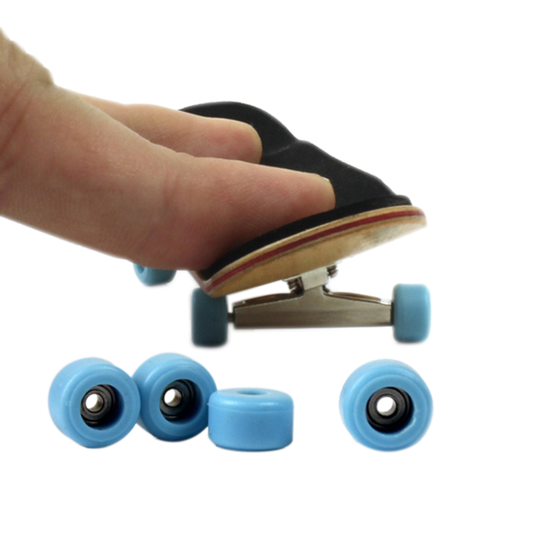 Professional Maple Finger Skate Board with Bearing Wheels Educational Toys Board Game Mini Skateboard for Children