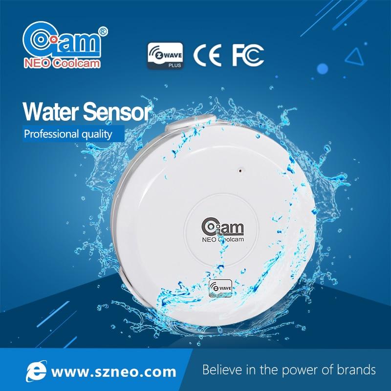 Smart Z wave Home Water Levels Flood Sensor Phone Control Z wave Alarm Recorder