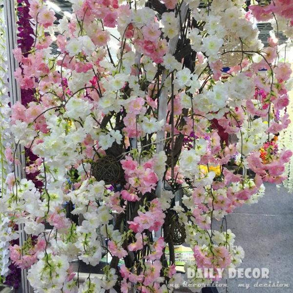 Online shop 152cm longer artificial cherry blossoms flowers 152cm longer artificial cherry blossoms flowers wedding arch decorative flowers supplies fake drape sakura junglespirit Gallery