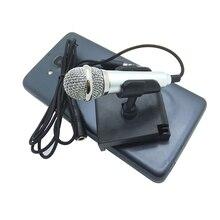Consumer Electronics - Portable Audio  - Metal MINI Jack 3.5mm Studio Professional Microphone Handheld Mic For Mobile Phone Computer For IPhone Ipad Karaoke