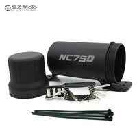 Universal Off Road For HONDA NC750 S/X NC750S NC750X CB600F CB900F HORNET Waterproof Tube Gloves Storage Box With 1 tool