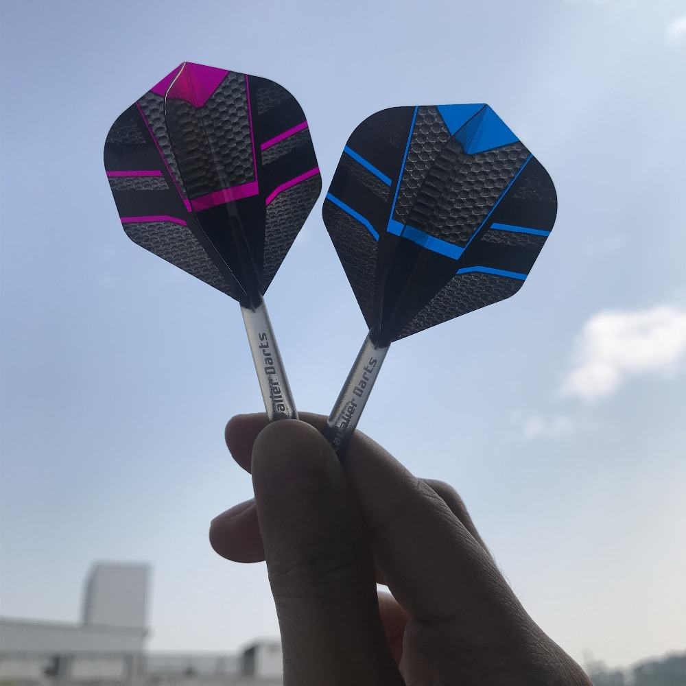Cavalier Free Shipping 4D Transparent Darts Flights Set Dart Shafts Popular Nice Pattern Darts Wing Tail Dart Accessories