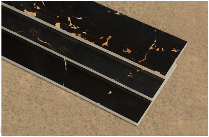 foshan 800130mm hoch glnzend voll poliert glasur fu linie fliesen welle grenze fliesen wohnzimmer