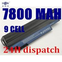 HSW 9 celdas de batería para Portátil Acer Aspire One 522 D255 722 AOD260 D255 D255E D257 D257E D260 D270 E100 AL10A31 AL10B31 AL10G31