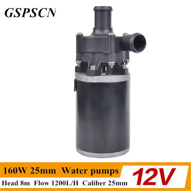 12V/24V 160W 25mm Strengthen A/C Heating Accelerate Water Circulation Automatic Electric A/C Heater Water Pumps for any car