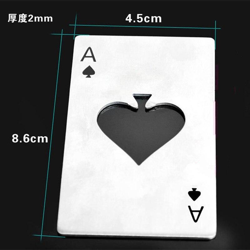 Poker Ace of Spades Beer Opener 5