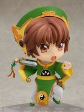 10cm Anime action Nendoroid #763 Card Captor Sakura Character Syaoran  Action Figure Toys стоимость