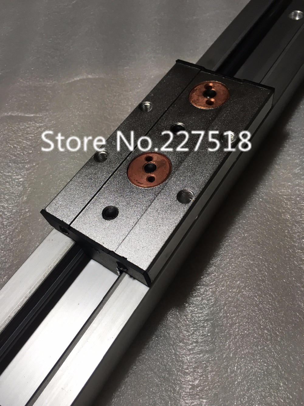 1pcs Double axis roller linear guide SGR20N L450mm +1pcs SGB20UU block multi axis core linear Motion slide rail auminum guide 1pcs linear motion bearings double side rubber seales lm35uu