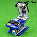 KELUSHI Optical Fiber Toos Cold Connection FC-6S Optic Fiber Cleaver Cutter 250um - 900um 12 Position Blade Metal Material