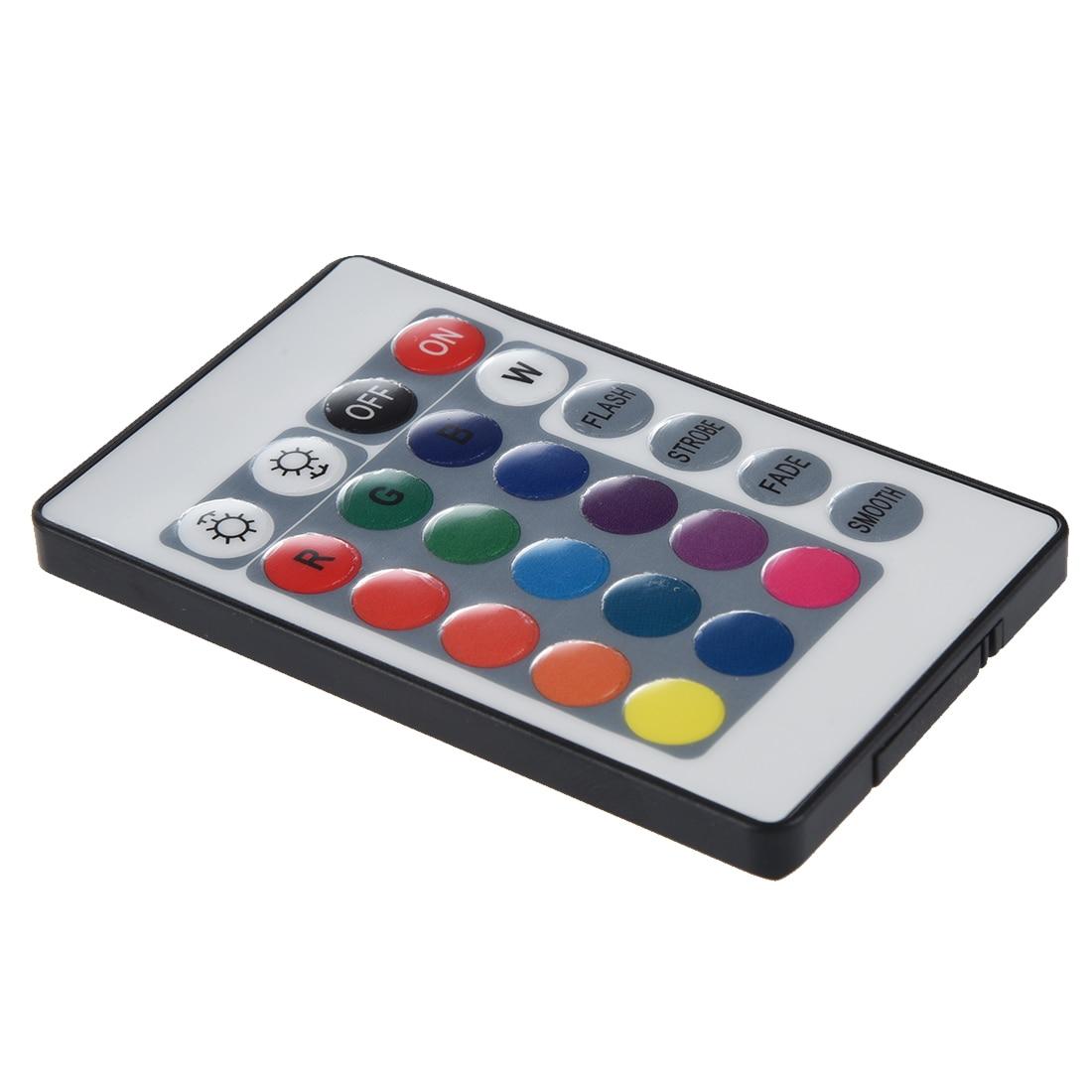 RGB 5050 SMD 5 м 300 светодиодный RGB полосы света Водонепроницаемый 12 В + 24 Ключ ИК-пульт дистанционного управления