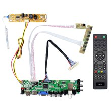HD MI VGA AV USB ATV DTV LCD sürücü panosu çalışma için 21.5 inç 1920x1080 MT215DW02 V0 CLAA215FA04 V1 m215HW01 V6 CLAA215FA04 K LCD