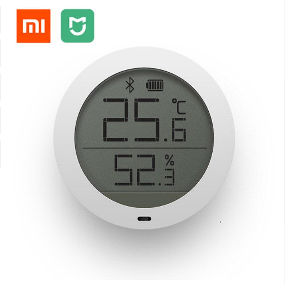 Auf Lager Xiaomi Mijia Bluetooth Hygrothermograph High Sensitive Hygrometer Thermometer LCD Bildschirm Magnet Aufkleber Niedrigen Verbrauchen